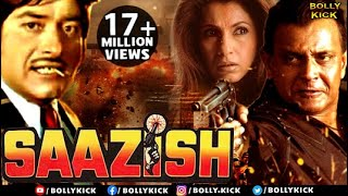 Saazish | Full Hindi Movie | Mithun Chakraborthy | Raaj Kumar | Hindi Movies | Action Movies