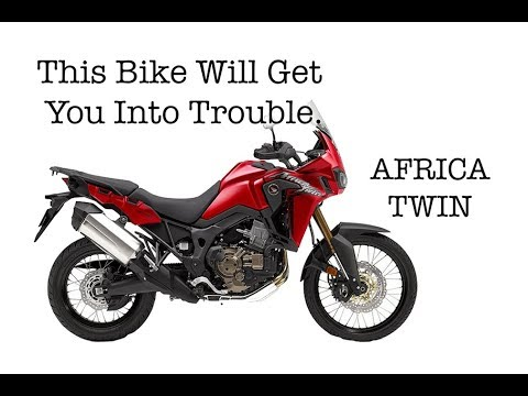 This Bike Will Get You Into Trouble! - Dick Rides the New Africa Twin