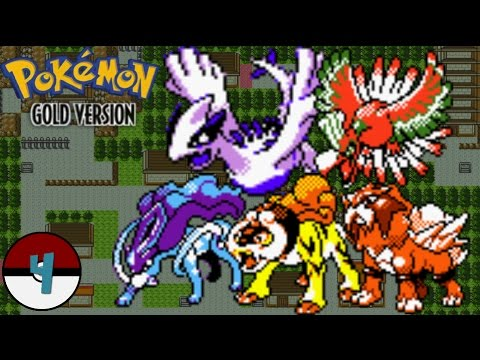 Pokemon Gold (Kanto): Episode 4 - Catching Ho-oh, Lugia, Suicune, Entei, & Raikou