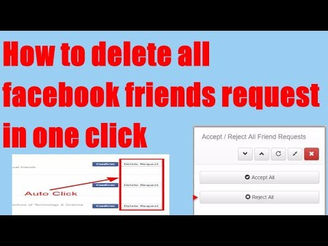 Delete All Facebook Friends Request At One Click