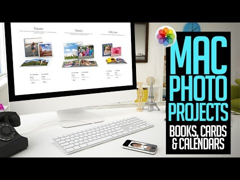 Mac Photo Projects - Books, Calendars, and Cards