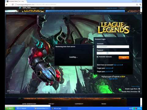 League of Legends - How to unlock free skins WORKS 100% 27/04/2012