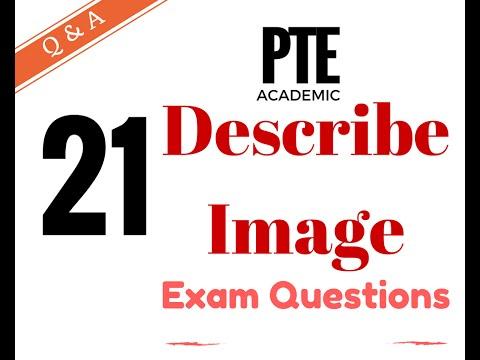 pte academic test practice describe image