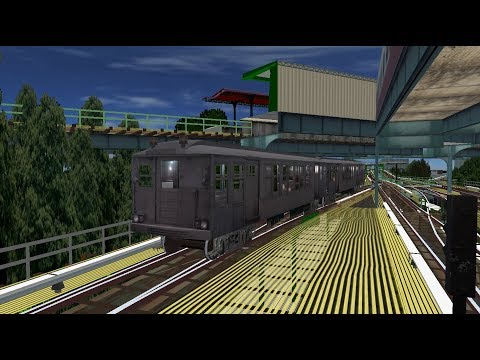 OpenBVE HD: NYC Subway BMT Q-Type Car Preview on The Jamaica El J Train (6/6/18)
