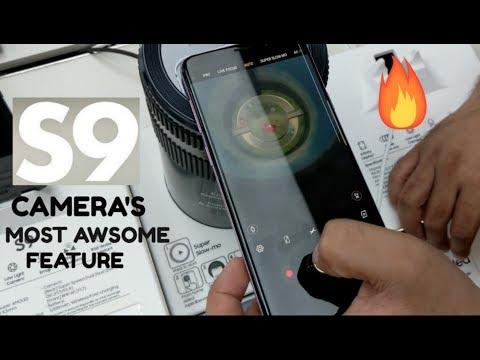 Samsung GALAXY S9 Camera Super Slow Motion & Low light DEMO !🔥🔥