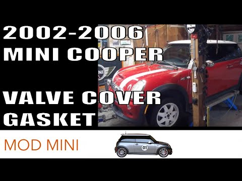 How to Replace Valve Cover Gasket MINI Cooper 2002-2006 R50-R53