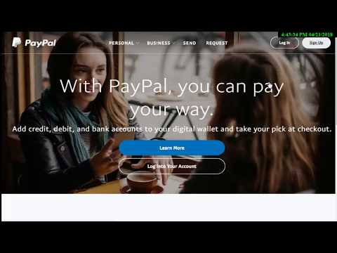 How to create account Paypal in Pakistan 2018 to 2019 100% verified