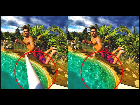 How To Remove The Monopod From Your Pictures! (NO PHOTOSHOP!)
