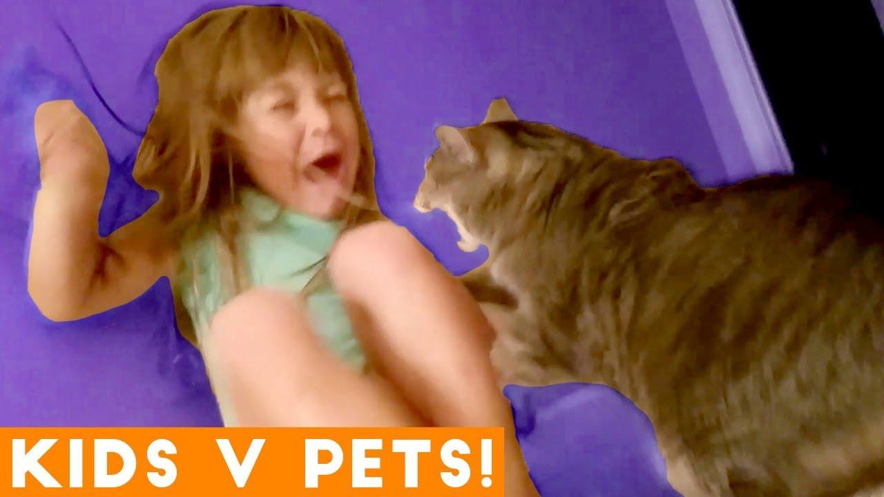 Ultimate Cute Pets vs. Epic Kids Fails Compilation | Funny Pet Videos February 2018