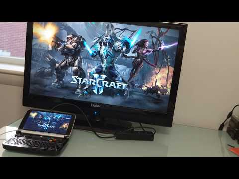 GPD Win 2 gaming and general computing demo