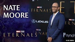 Producer Nate Moore on Evolving the MCU   Marvel Studios' Eternals Red Carpet