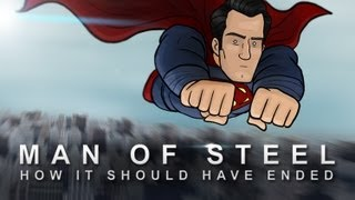 How Man Of Steel Should Have Ended