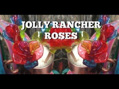 DIY Jolly Rancher Roses!!!!!!