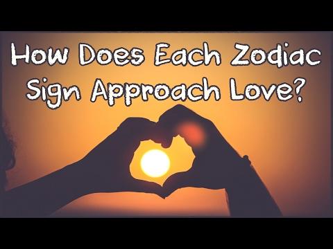 How Does Each Zodiac Sign Approach Love?