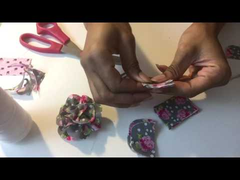 How To Make Men's Wear Lapel Flowers For Lapel Pins