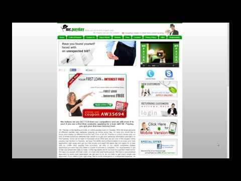 Online Payday Loans - Watch How To Get It Free