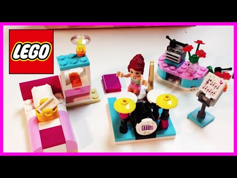 LEGO Friends 3939 Mia's Bedroom - cool set with drums