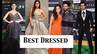 iifa Awards 2017 Best Dressed Bollywood Stars | Must Watch!