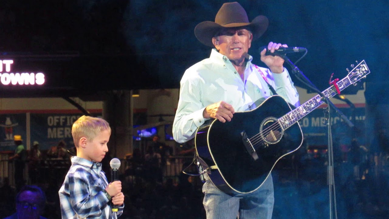 """""""God and Country Music"""" George Strait w/special guest, grandson Harvey Strait"""