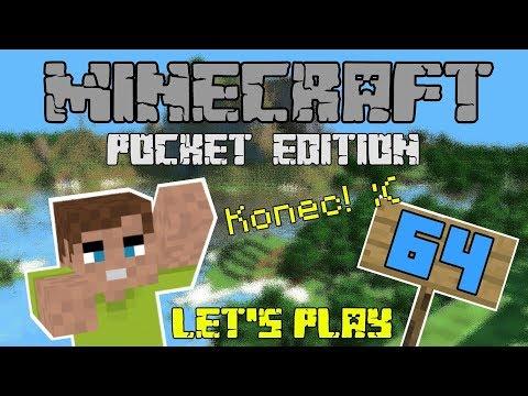 Minecraft PE | E64 - Všechno jednou končí + SAVE 🔚 [CZ]