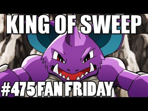 NidoKing of Sweep! Pokemon Omega Ruby Alpha Sapphire WiFi Battle! Fan Fridays #475 Tim