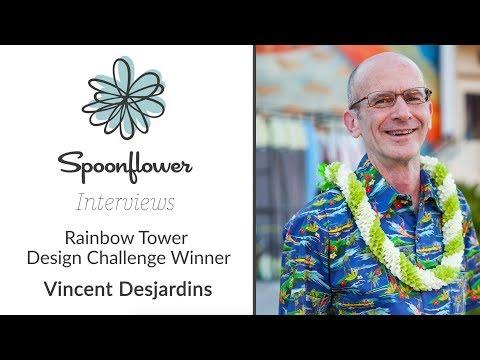 Spoonflower Interviews...Vincent Desjardins AKA vinpauld   Spoonflower