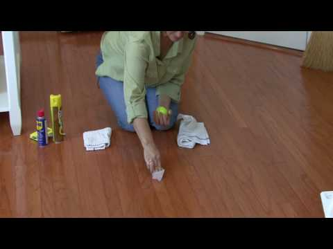 Cleaning Floors : How to Remove Scuff Marks From Wood Floors