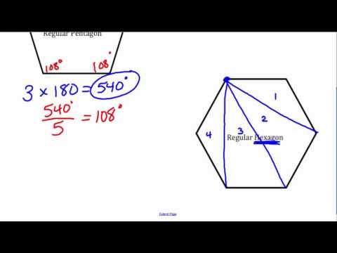 Interior Angles of Regular Polygons