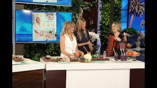 Download Gwyneth Paltrow Makes a Clean Plate for Kate Hudson & Goldie Hawn Video