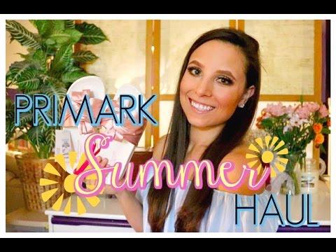 PRIMARK TRY ON HAUL | SUMMER 2017 | ERIKA MOULTON