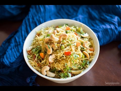 Shavige Uppittu  | Sevia Upma  | Vermicelli Upma / Easy Breakfast Recipes