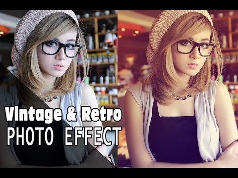 Photoshop Vintage & Retro Photo Effect Tutorial