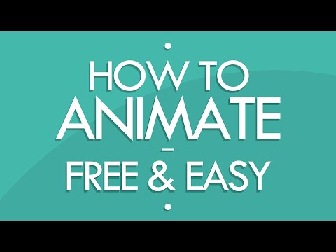 How to Animate! [FREE & EASY] - (Tutorial)