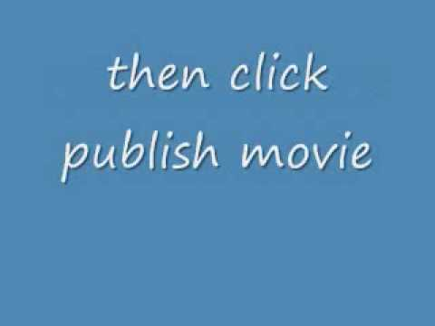 How to make windows moviemaker in WMV format