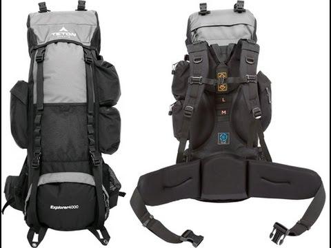 Gear Review: The Teton Sports Explorer 4000 Internal frame backpack