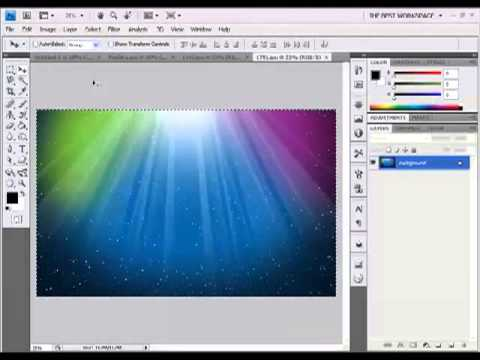 How to make a 3D cube with photos in photoshop Cs4 Best version) HD