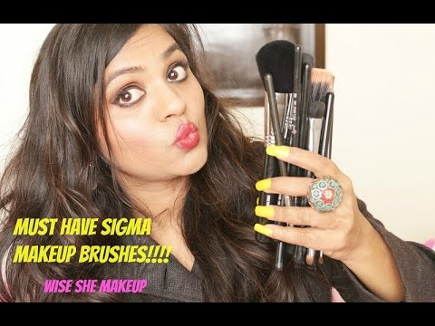 Must Have Sigma Makeup Brushes India|Tips To Buy Sigma Brushes|Wiseshe Makeup