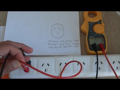 How to Use a Multimeter - Measuring AC Voltage