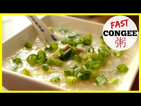 How to Make Jook - Chinese Rice Porridge (粥) Congee Fast!