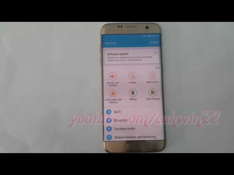 Samsung Galaxy S7 Edge : How to Enable or Disable Briefing feed Notification access