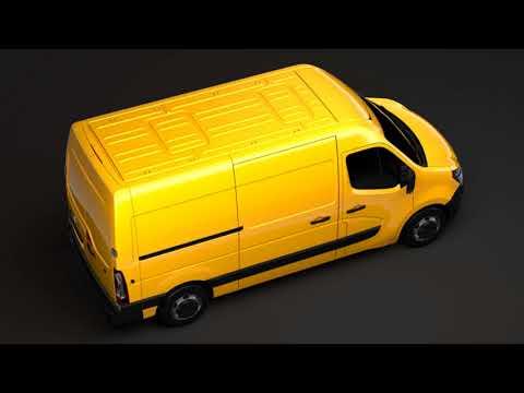 3D Model of Nissan NV 400 L2H2 Van 2017 Review