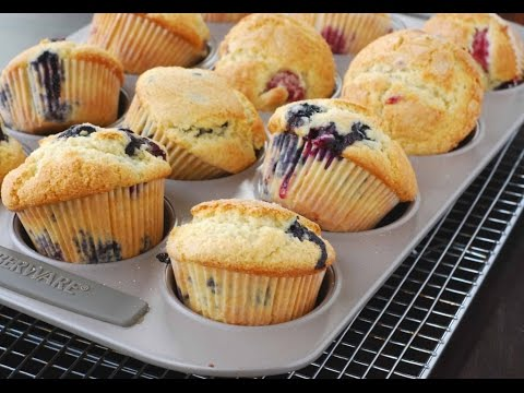 Blueberry Muffins | One Pot Chef