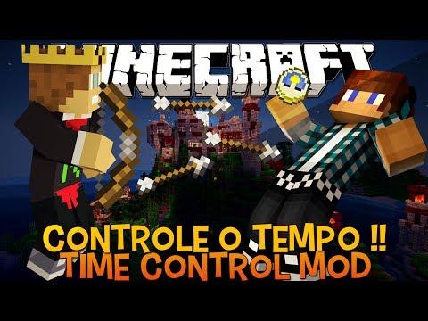 Controle o Tempo no Minecraft !! - Time Control Remote Mod