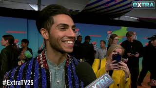 Download Mena Massoud Talks Working on Live Action 'Aladdin' with Will Smith Video