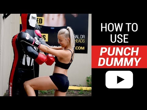 Punch® Grappling Dummy / Punching Bag - How to use | Punch Equipment®