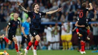 Croatia beats England to book spot in World Cup final