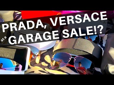 We Found Prada & Versace at a Garage Sale!? REAL or FAKE? | eBay Sellers | Ralli Roots