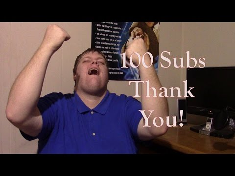 100 SUBS!!!!! Thank you so much!!!!!