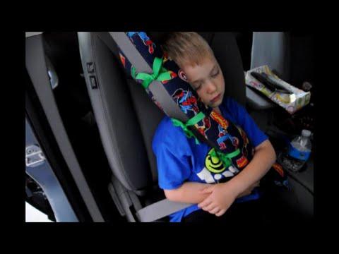 DIY Seat Belt Pillow Tutorial