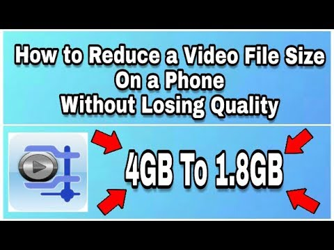 How to Reduce a Video File Size On a Phone